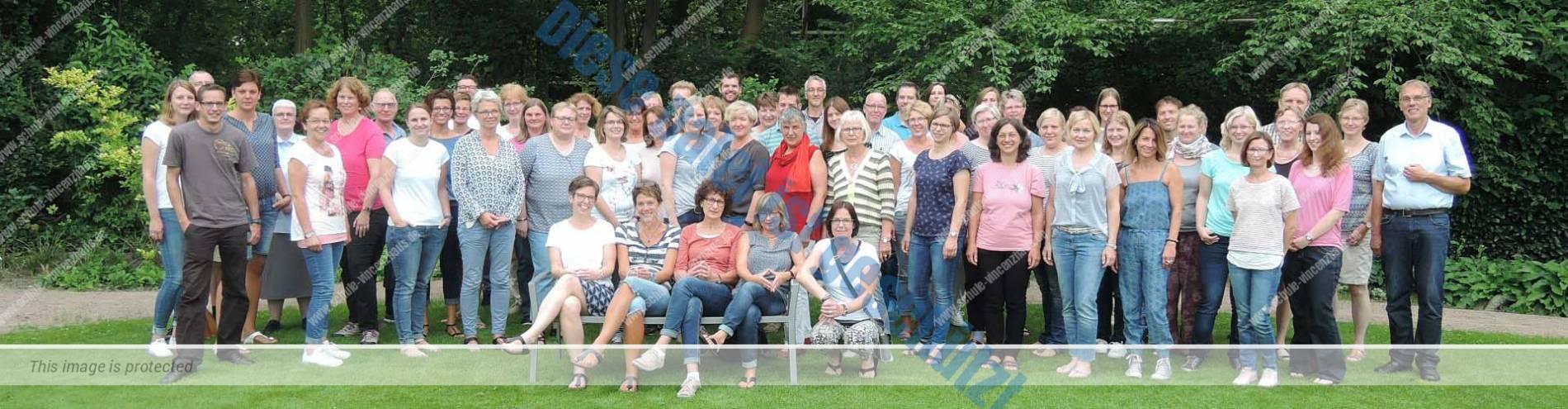 Kollegium der Schule St. Vincenzhaus Cloppenburg