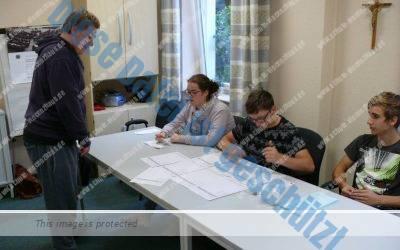 Schüler des St.Vincenzhauses erleben Demokratie