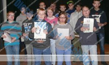 Emily, Sven und Dirk sind die besten Leser
