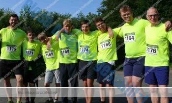 Inklusionslauf: Läufer kommen ganz schön ins Schwitzen