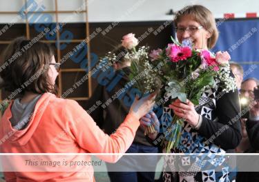 Frau Phillips offiziell in den Ruhestand verabschiedet