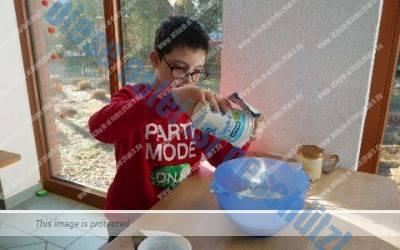 Klasse 5b genießt 5 Sterne Frühstück