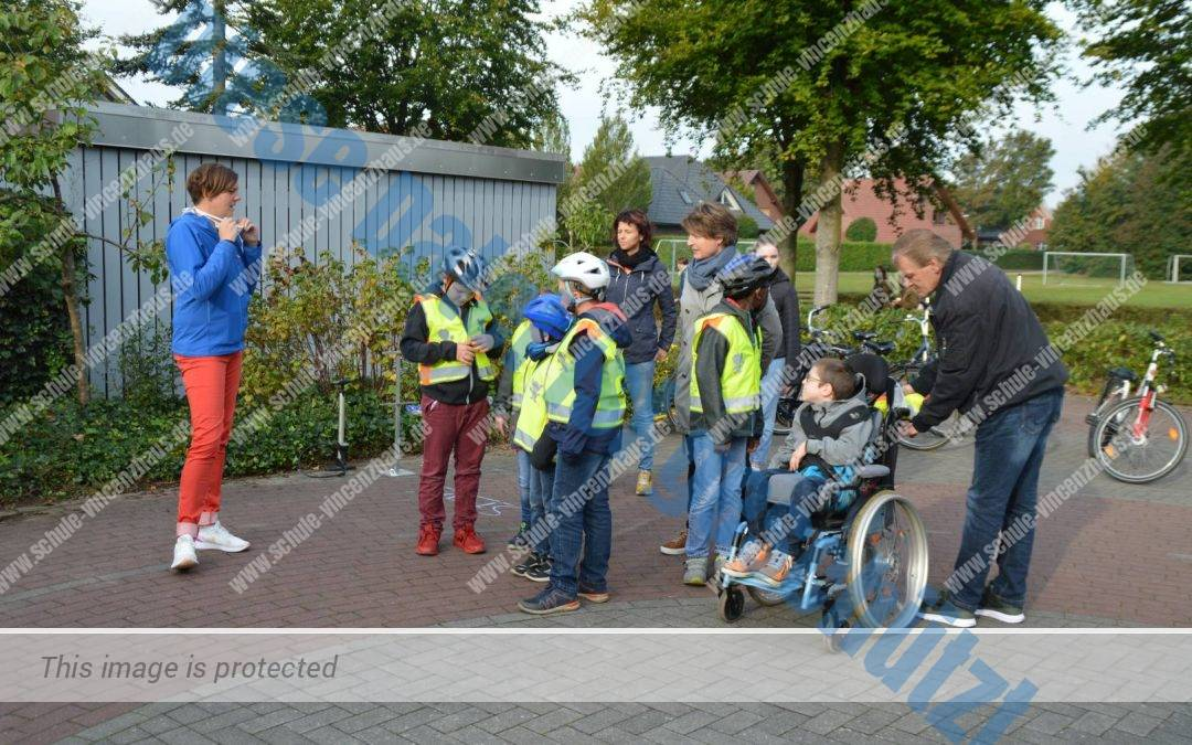 Spannender Fahrradtag auf Verkehrsübungsplatz