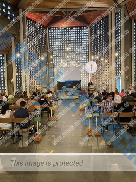 Tolle Entlassfeier in der St. Josef-Kirche