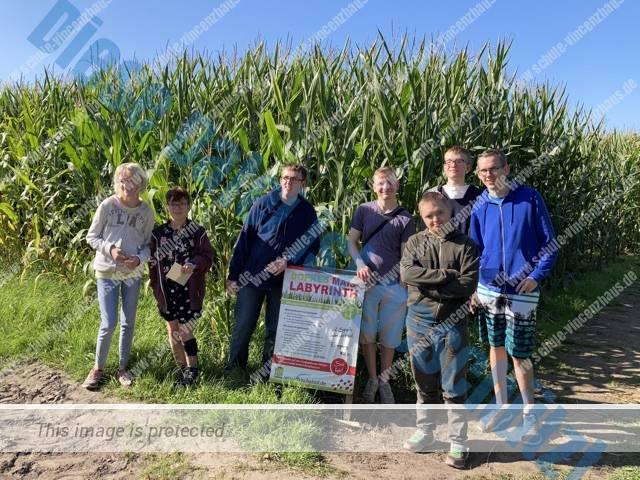 Verirrspaß im Maislabyrinth – Klasse 12b