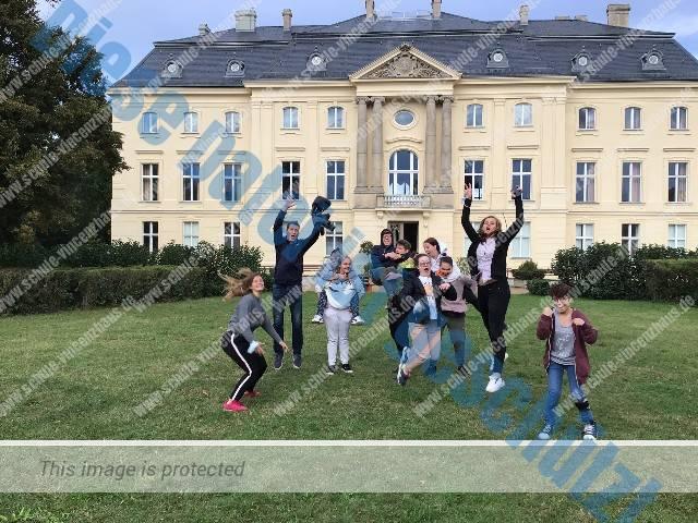 Schülertreff aus 3 Nationen in Trebnitz (Brandenburg)